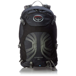 Kuprinė Osprey Stratos 24 anthracite black s/m