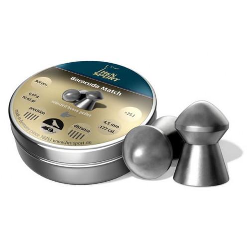 Kulkelės H&N BARACUDA MATCH 4.5mm / 500vnt