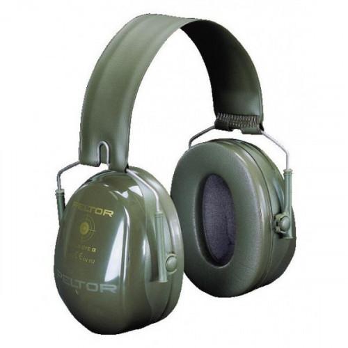"""Apsauginės ausinės PELTOR """"BULL'S EYE II"""" sulankstomos žalios"""