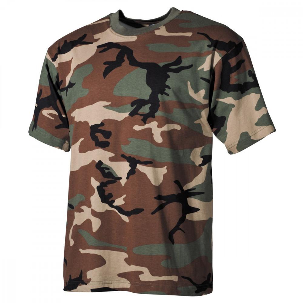 "Marškiniai MF ""US CLASSIC STYLE"" woodland"