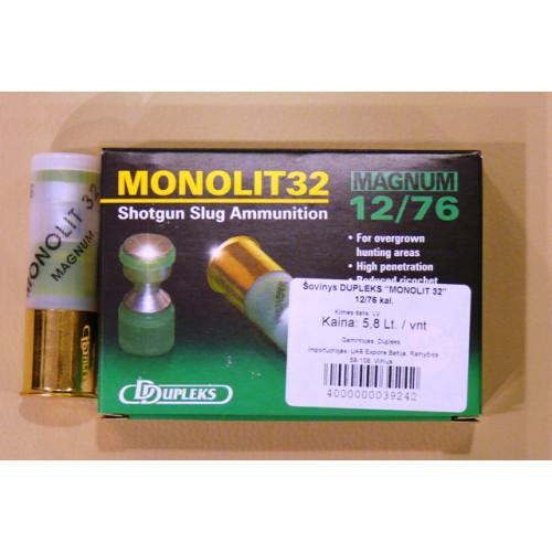 "Šovinys DDUPLEKS ""MONOLIT 32"" 12/76 kal."