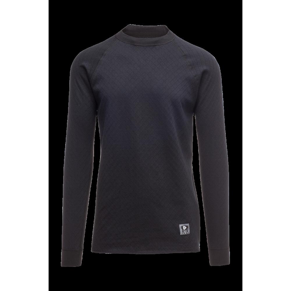"""Termo marškinėliai THERMOWAVE """"2 IN 1"""" juodi"""