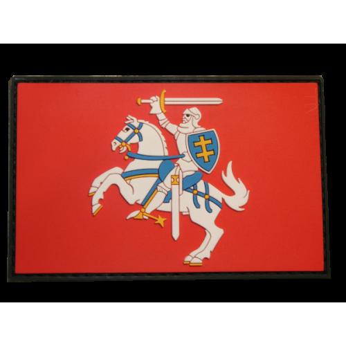 "Antsiuvas su velcro ""VYTIS"" vėliava 90x55mm"