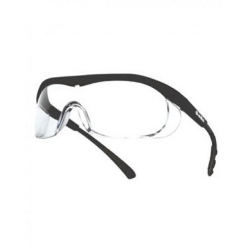 """Apsauginiai akiniai BOLLE """"TARGA"""" skaidrūs(juodas rėmas)"""