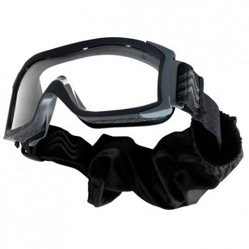 """Taktiniai balistiniai akiniai BOLLE """"X1000"""" juodi skaidrūs"""