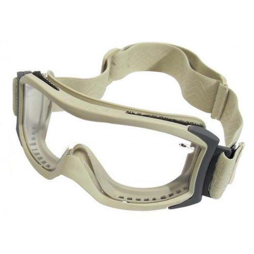 """Taktiniai balistiniai akiniai BOLLE """"X1000""""  dykumų skaidrūs"""