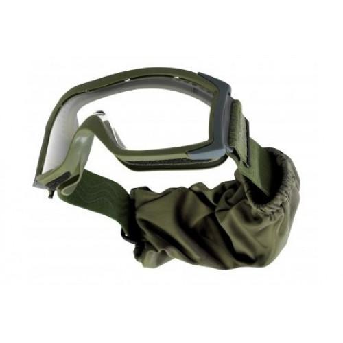 """Taktiniai balistiniai akiniai BOLLE """"X1000"""" žali skaidrūs"""