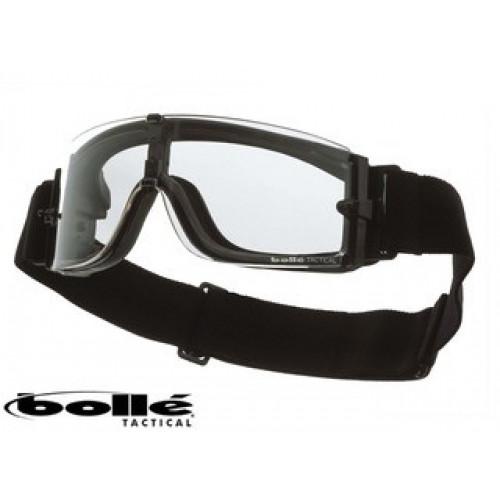 """Taktiniai balistiniai akiniai BOLLE """"X800"""" skaidrūs"""