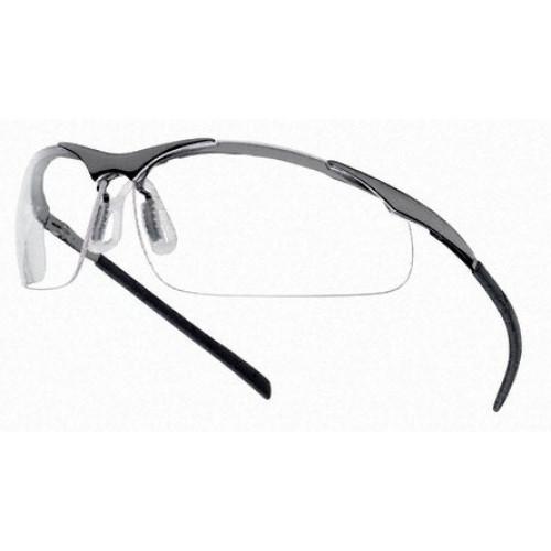 """Apsauginiai akiniai BOLLE """"CONTOUR METAL"""" skaidrūs"""