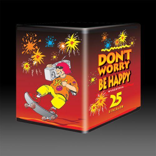 """Fejerverkas """"JW20 DON'T WORRY BE HAPPY"""""""