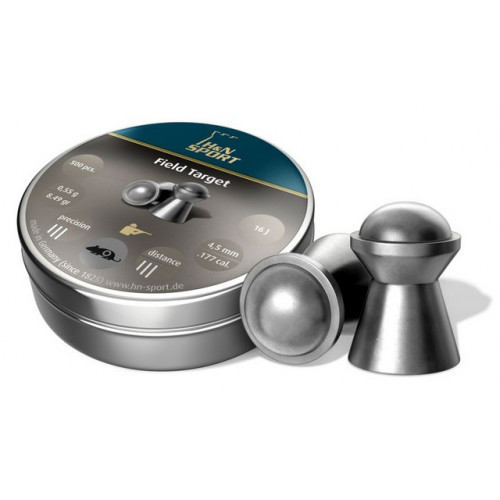 Kulkelės H&N FIELD TARGET TROPHY 4.50mm / 500vnt