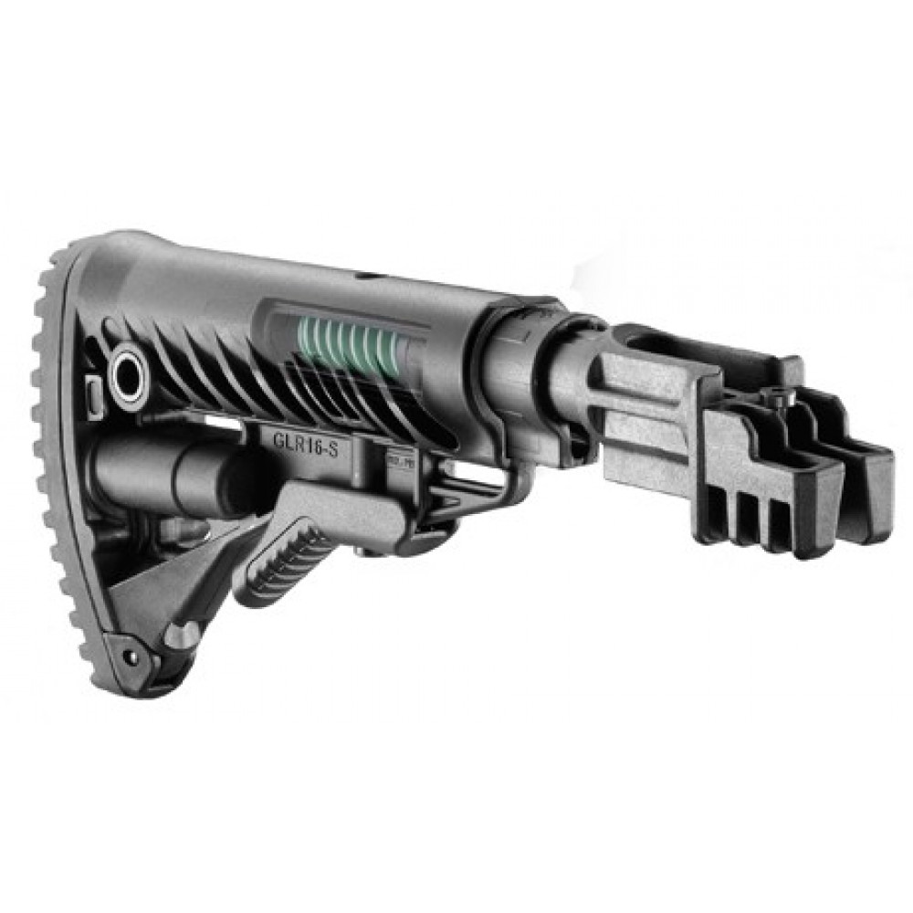 Buožė FAB DEFENSE AK47 su atatrankos mažinimu, juoda