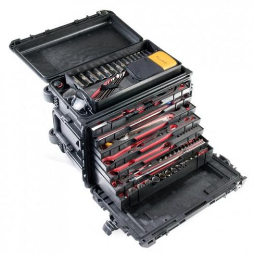 Įrankių dėžė PELI 0450 Case No Foam juoda