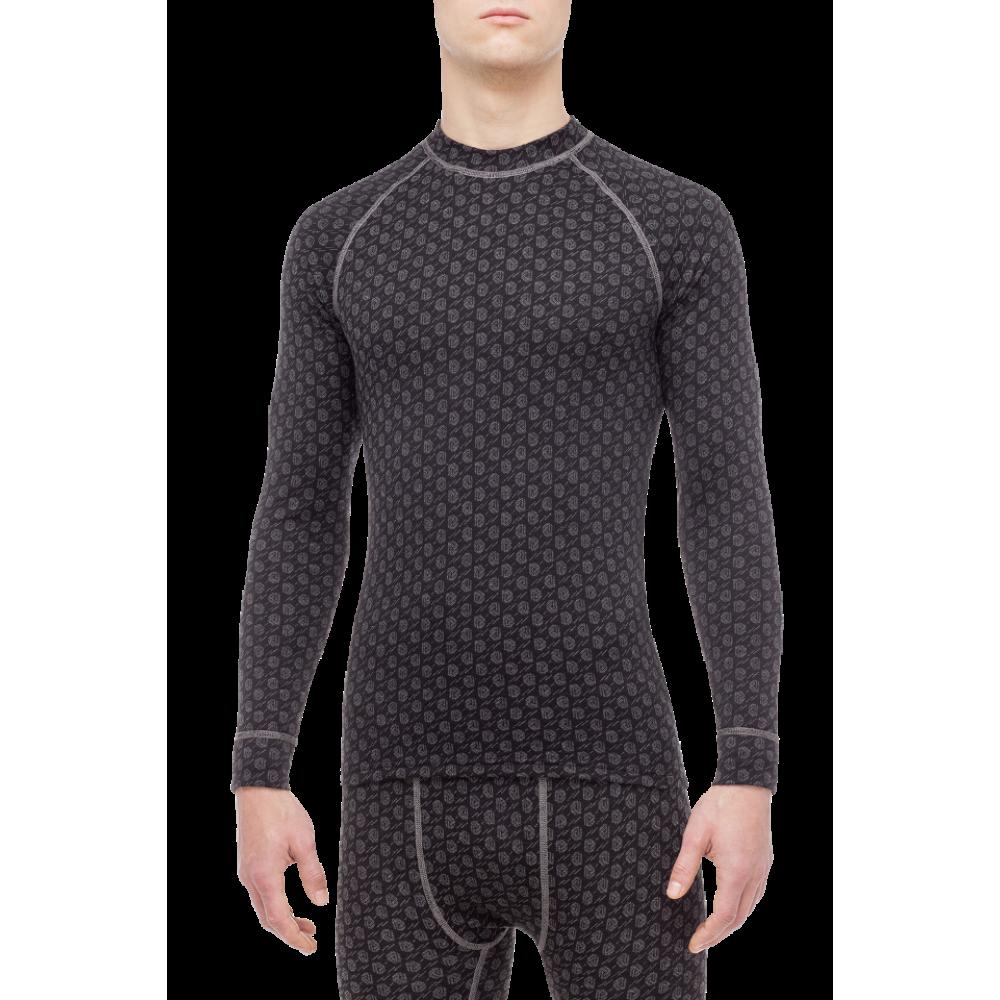 Termo marškinėliai THERMOWAVE MERINO XTREME juodi