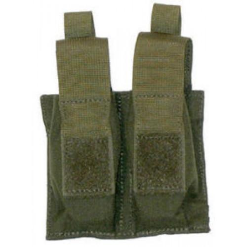 Krepšelis TALONFLEX  pistoleto dėtuvei, dvigubas,juodas