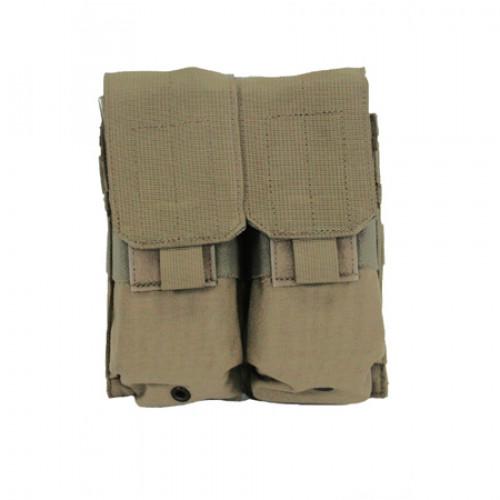 Krepšelis BLACKHAWK!  dvigubas 4-ioms M4 dėtuvėms, žalias