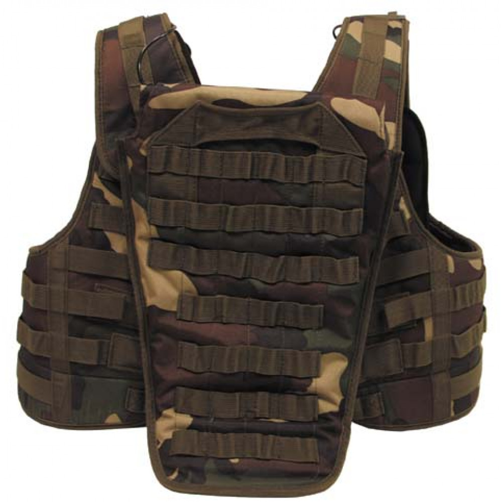 "Liemenė MAX FUCHS ""ARMOR CHASSIS"" Molle  woodland"