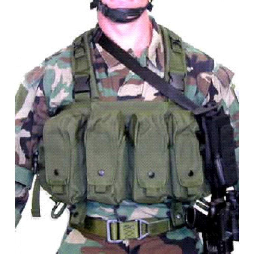 Liemenė BLACKHAWK! Commando Chest Harness IVS, žalia