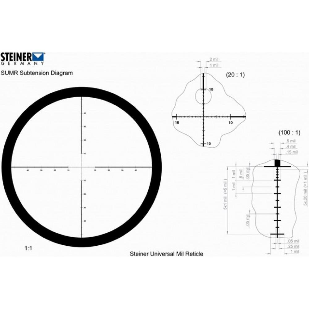 Žiūronai STEINER TACTICAL 10x42R