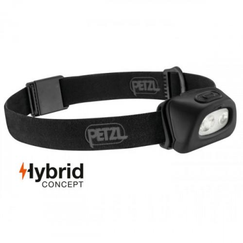 Prožektorius Petzl Tactikka+RGB 250lm juodas