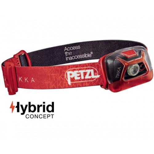 Prožektorius Petzl Tikka 200lm raudonas