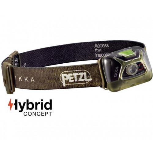 Prožektorius Petzl Tikka 200lm žalias