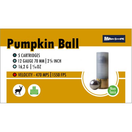 Šovinys MakSnipe Pumpkin Ball 12/67
