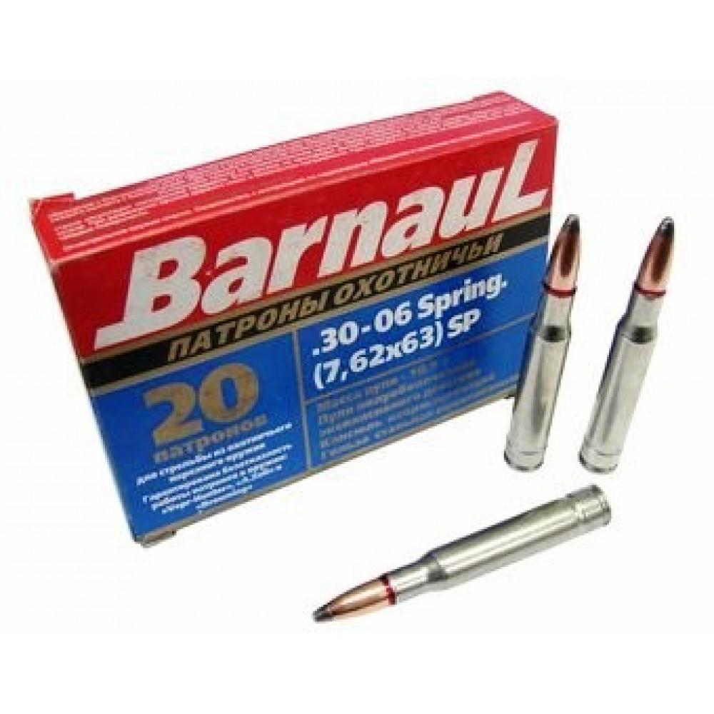 Šoviniai BARNAUL 30-06sp (7,62x63) SP 10.9 g.
