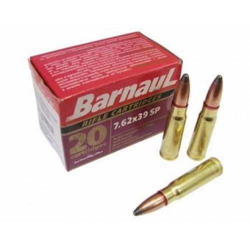 Šoviniai BARNAUL 7,62x39 SP 8.1 g.
