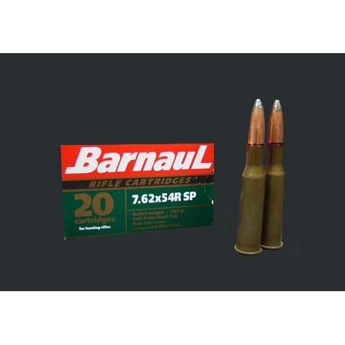 Šoviniai BARNAUL 7,62x54R SP 13.2 g.