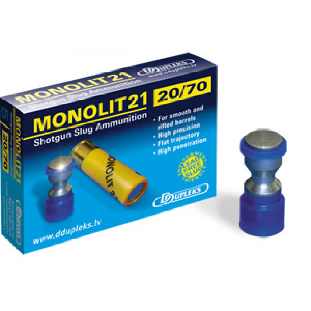 "Šovinys DDUPLEKS  ""MONOLIT 21"" 20/70 kal."