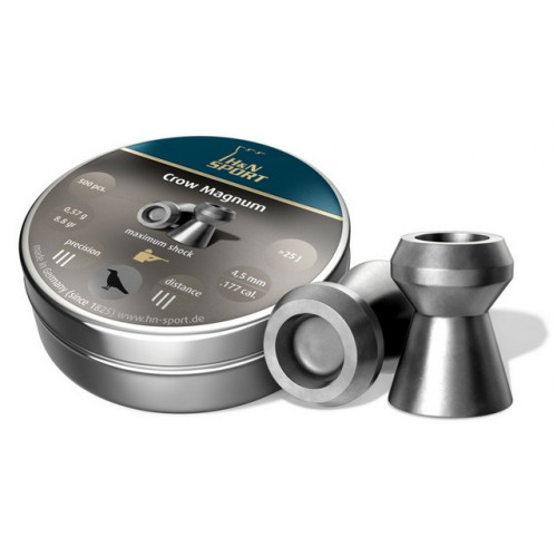 Kulkelės H&N CROW MAGNUM 4.50 mm / 500vnt
