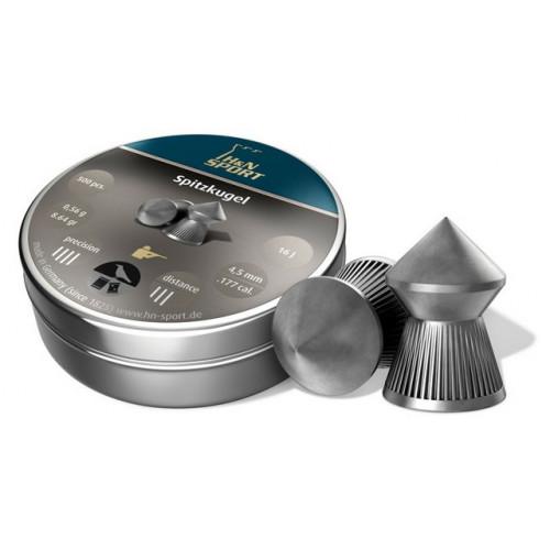 Kulkelės H&N SPITZKUGEL 4.50 mm / 500vnt