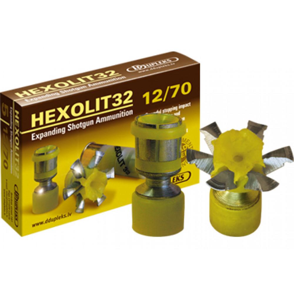 "Šovinys DDUPLEKS ""HEXOLIT 32"" 12/70 kal."