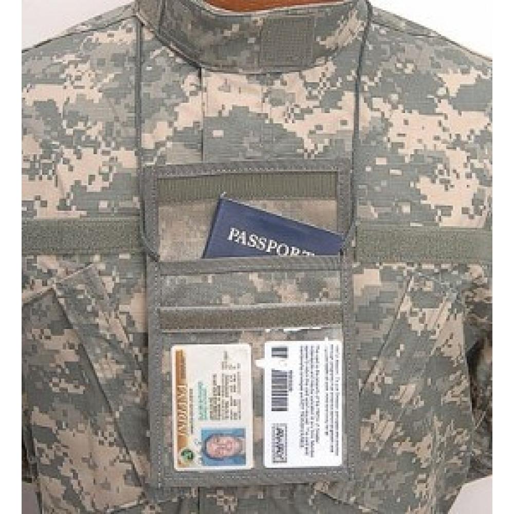 Piniginė ant kaklo BLACKHAWK ID acu spalvinimo